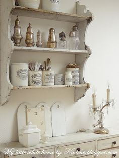 shabby chic and vintage kitchen
