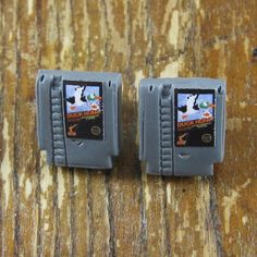 Tiny NES Game Earrings - Game of your Choice