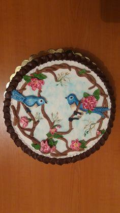 Birds cake Bird Cakes, Birds, Desserts, Food, Meal, Bird, Deserts, Essen, Hoods
