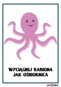 Zabawy ruchowe w przedszkolu - karty obrazkowe i inspiracje - Pani Monia