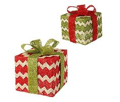 raz imports 9 lighted christmas presents - Lighted Christmas Presents