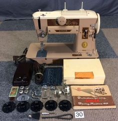 singer sewing machine model 401a value