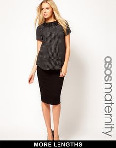 ASOS Maternity Jersey Pencil Skirt