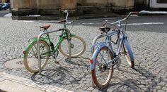 Ciclismo urbano en la antigua Alemania del Este
