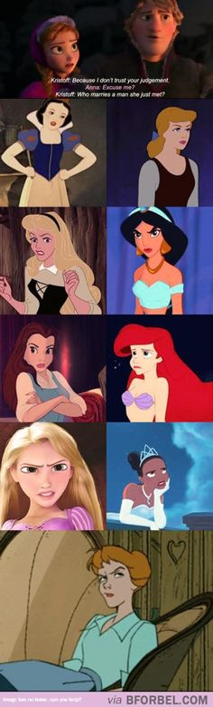 Kristoff Clearly Doesn't Know His Disney Princesses Well…