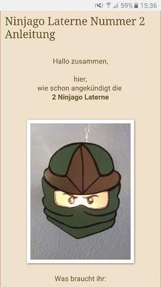 Ninjago etwas das jede Mutter kennt und dazu der Wunsch einer Laterne. Ich fand diese tolle Möglichkeit