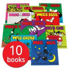 Meg and Mog Collection - 10 Books - Collection - 9780141376264 - Helen Nicoll & Jan Pienkowski