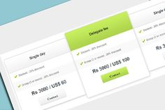 Attractive Pricing Tables Using CSS3 #css #html #free