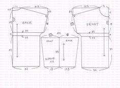 여자 오버사이즈 티셔츠 만들기 패턴 : 네이버 블로그 Sewing Patterns, Projects To Try, Shirts, Inspiration, Tops, Fashion, Dressing Up, Stitching Patterns, Factory Design Pattern