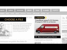 Here is a great banner from Opel to showcase the utility potential of the new Opel Movano van. The banner literally carries your files a. Create A Banner, Digital Campaign, Car Advertising, Sport, Stunts, Case Study, Social Media Marketing, Carry On, Innovation