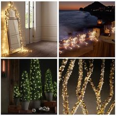 AMARS 5 Set of 2m/7ft 20 Warm White LED String Lights Battery Powered/Operated with Timmer Function - 6 hours on/18 hours off Ultra Thin Silver String Light for Christmas, Wedding, Party, Patio, Garden, Home Decoration Lighting: Amazon.ca: Tools & Home Improvement