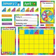 Kindergarten Calendar Board, Calendar Bulletin Boards, Teaching Kindergarten, Calendar Time, School Calendar, Calendar Ideas, Daily Calendar, Preschool Boards, Preschool Worksheets
