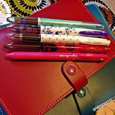Re pinned from:  #ShareIG So I jumped on the bandwagon!!!  Not sure how I feel about the pens as of yet. The customer service was good and the pretty factor does score some points. #filofax #coleto #pens #filofaxsupplies #planneraddict #filofaxjunkie #crafty