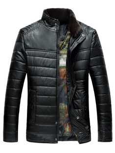 LONMMY Fur collar leather jacket men black PU clothing Suede Casual Outerwear coats mens windbreaker New 2017 Winter Men's Leather Jacket, Jacket Men, Leather Jackets, Pu Leather, Ropa Semi Formal, Thermal Jacket, Mens Windbreaker, Straight Jacket, Coat Stands