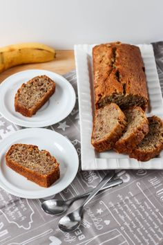 Chlebek bananowy najlepszy przepis ⋆ M&M COOKING Banana Bread, Cooking, Sweet, Recipes, Foods, Film, Interior, Christmas, Diet