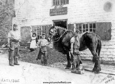 Blacksmith on Lydgate Lane Sheffield #sheffield