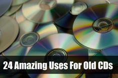 24 amazing ideas for you to turn those old unwanted fitness DVDs and one hit wonder CDs into amazing crafts, such as coasters, disco balls and even an iPhone dock.