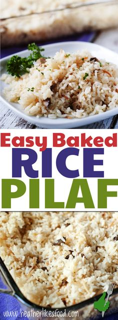 Toast, stir, cover and bake! Show-stopping side dishes don't get much easier than this flavorful rice pilaf.