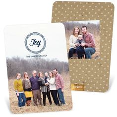 It doesn't take much time to personalize these Christmas card ideas - just a few minutes and you're done!