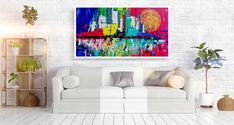 Original Artwork, Abstract Art, Tapestry, The Originals, Painting, Home Decor, Hanging Tapestry, Tapestries, Decoration Home