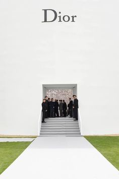 Dior Haute Couture Fall Winter 2014 Show Space
