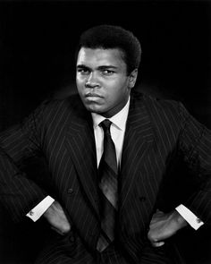 Muhammad Ali Portrait by Yousuf Karsh from the book Karsh Portraits by Blossomsvintageprint on Etsy