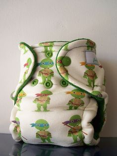 So cute for a baby boy! or girl, for that matter. -NB Ninja Turtles (SYOF)   Forty41