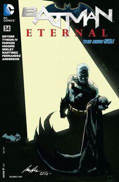 Batman Eternal (2014-) #34 - Is this the end of Wayne Enterprises?