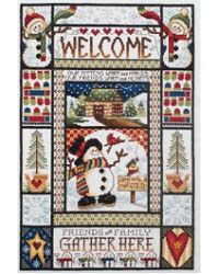 Winter Welcome Sampler-my next project ordering it now