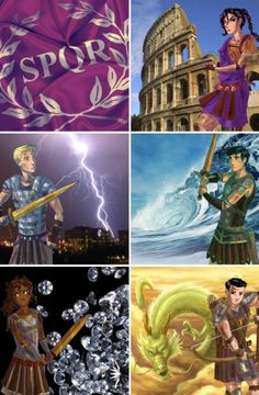 SPQR. Perseus Jackson, What are you doing on there!?!?