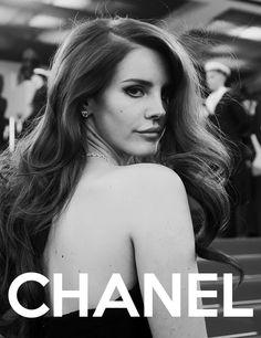 chanel+lana del rey=beauty  - popculturez.com #Celebrity #Entertainmentnews #Celebnews