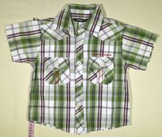 690 Ft. - Ing - zöld-fehér-bordó kockás (George) Ing, Georgia, Button Down Shirt, Men Casual, Mens Tops, Shirts, Fashion, Dress Shirt, Moda
