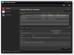 Today's Freeware for you!! AV Media Uploader is a multi-tasking utility that allows users to queue tasks into a list for auto-uploading. This helps users to save time waiting for an upload to complete before uploading another.  Download: http://www.audio4fun.com/player/media-uploader.htm