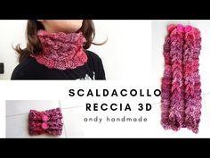 Crochet Scarves, Knit Crochet, Neck Warmer, Crochet Necklace, Knitting, Youtube, Knitting Needles, Scarves, Crocheting