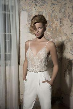 Beyoncé's Bridal Jumpsuit + 12 Wedding-Worthy One-Pieces via Brit + Co.