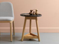 brogue leather and brass side table by bethan gray | According to Gray, the motivation behind the G&T collection lies in ...