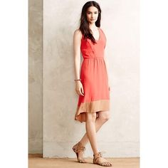 La Vi by Sam & Lavi Coral Dress Beautiful dress from Anthropologie Anthropologie Dresses