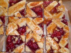 """""""Linzer"""" with hazelnuts, cinnamon, red currant jelly Currant Jelly, Waffles, Cinnamon, Baking, Breakfast, Red, Canela, Morning Coffee, Bakken"""