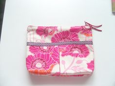 jolie trousse de fille , tous usages, en coton fleuri : Trousses par couleur-boheme