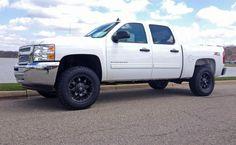 2013 White Chevy Silverado by Venom Motorsports in Grand Rapids MI . Click to view more photos and mod info.