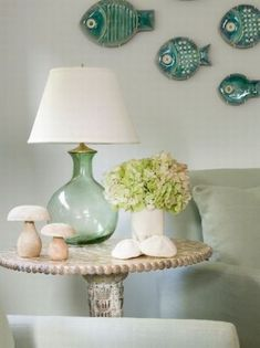 set the mood with color & accent fish