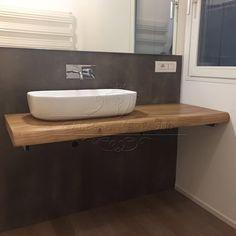 Top bagno in legno massello con il 30% di sconto