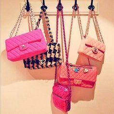 Pink purses   Lockerz