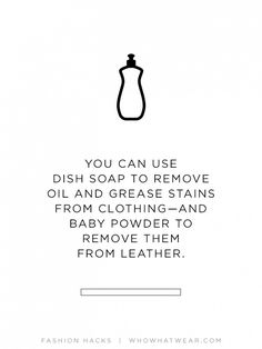1000 images about fashion tips on pinterest fashion for Remove oil stains from shirt