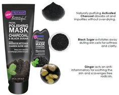 review freeman exfoliating face polishing Mask with Charcoal & Black Sugar best mask for oily skin
