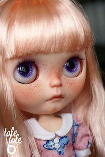 Tolé Tolé dolls: Moka - new girl looking for adventures