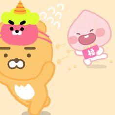 Kakao Friends, Coloring Books, Pikachu, Doodles, Kawaii, Diy, Graphics, Fictional Characters, Vintage Coloring Books