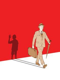 Paperwork - robbie porter illustration