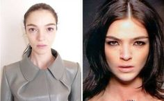 Celebrities is Not Perfect: Fashion Models Without Makeup