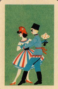 Vintage Russian matchbox label by maraid, via Flickr